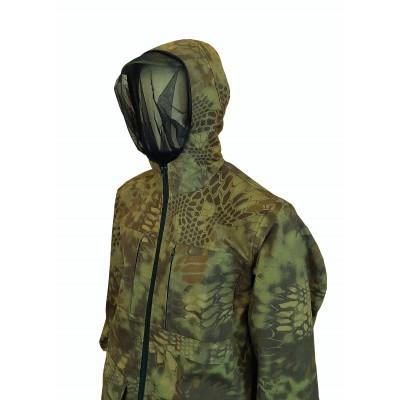Камуфляжный костюм, антимоскит, цвет коричневый питон (рип стоп)