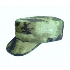 Кепка камуфлированная, цвет  - зеленый мох