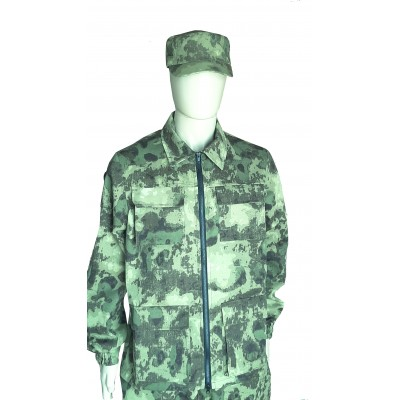 Камуфляжный костюм, цвет  - зеленый мох