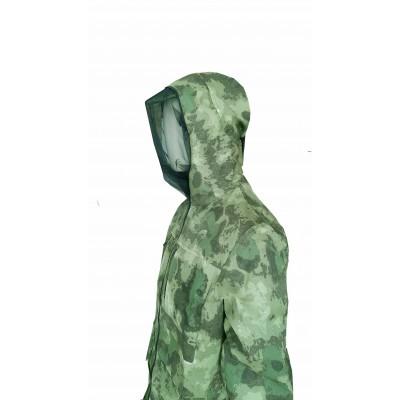 Камуфляжный костюм, антимоскитный, цвет  - мох.